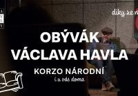 Obývák Václava Havla