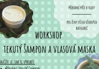 Workshop - Výroba přírodního tekutého šamponu a vlasové masky