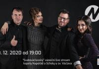 LIVE stream – Online koncert kapely Napořád a Scholy u sv. Václava