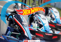 Živé vysílání z motokár - Hot Wheels