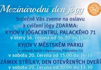 Mezinárodní den jógy Kyjov
