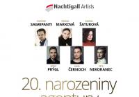 Narozeninový koncert Nachtigall Artists