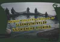 Výlov Štěpnického rybníka v Telči