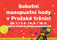 Sobotní masopustní hody - Praha
