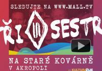 LIVE stream – Tři sestry - Online koncert a křest alba Sex Drógy Rokenról