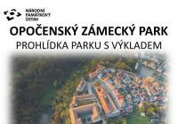 Prohlídky zámeckého parku s výkladem