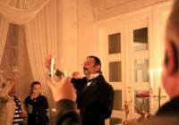Hostem u knížete Metternicha na zámku Kynžvart