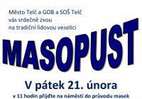 Masopust 2020 v Telči