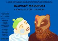 Bzovský masopust 2020 - Železný Brod