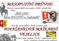 Masopust 2020 - Vlčnov