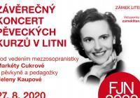Závěrečný koncert interpretačních kurzů v Litni 2020