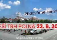 Venkovní bleší trh u kina v Polné