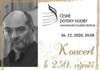 Slavnostní zahajovací koncert k 250. výročí narození L. V. Beethovena České doteky hudby