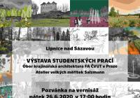 Vernisáž studentských prací – atelier salzmann