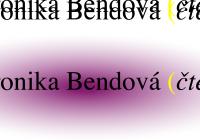 Veronika Bendová | Autorské čtení