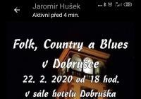 Folk,country a blues v Dobrušce