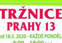 Farmářské trhy 2020 v Praze na Slunečním náměstí