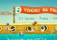 O5 a Radeček na lodi na Vltavě