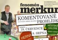 Výstava Merkur – komentovaná prohlídka
