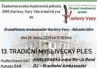 Myslivecký ples 2020 - Karlovy Vary