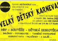 Velký dětský karneval - Havlíčkův Brod