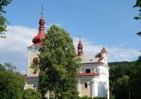 Kostel sv. Kateřiny Alexandrijské, Sloup v Čechách