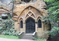 Skalní kaple P. Marie Lurdské