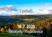 7 pohoří Beskydy 2020