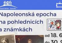 Napoleonská epocha na pohlednicích a známkách