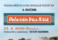 Veterán bus Kříž - Zámek Slavkov u Brna