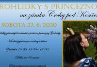 Prohlídky zámku s princeznou