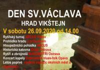 Svatováclavské slavnosti na zřícenině hradu Vikštejn