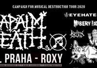 Napalm Death v Praze