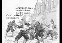 Rapír i kord, Tři mušketýři a Casanova seminář šermu
