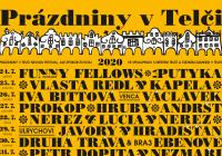 Prázdniny v Telči 2020 - Antikvartet, Štěpán Rak a Kateřina Englichová