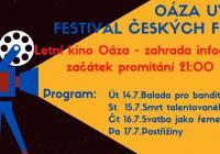 Letní kino Oáza v Dolních Počernicích