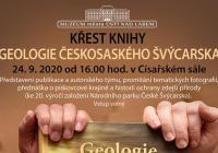 """Křest knihy """"Geologie Českosaského Švýcarska"""""""