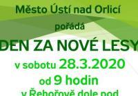 Den za nové lesy - Ústí nad Orlicí