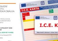 Představení projektu Seniorská obálka - I.C.E. karta