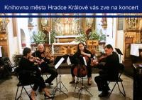 Napříč českou historií s Královéhradeckým kvartetem