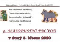 Masopust 2020 - Český Brod