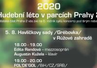Hudební léto v parcích Praha 2