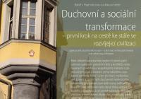 Duchovní a sociální transformace – první krok na cestě ke stále se rozvíjející civilizaci