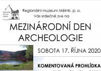 Mezinárodní den archeologie - hradiště Zámka