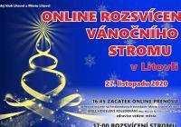 Rozsvícení vánočního stromu online - Litovel