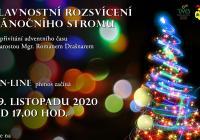Rozsvícení vánočního stromu online - Třebechovice pod Orebem