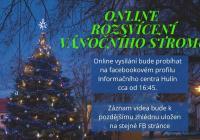 LIVE stream - Rozsvícení vánočního stromu online Hulín
