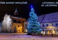 LIVE stream - Rozsvícení vánočního stromu online Letohrad