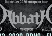 Abbath v Brně