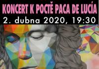 Koncert k poctě Paca de Lucía - ZRUŠENO
